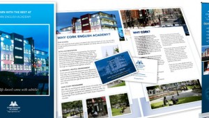 Cork English Academy Print Design