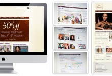 Chocolate Hair Group Web Design