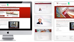 Cogan International College Web Design