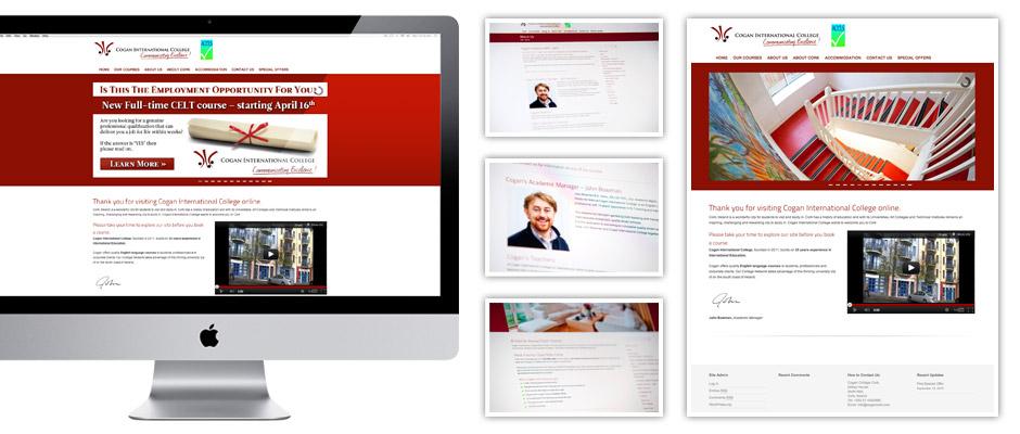 Cogan International College Web Design