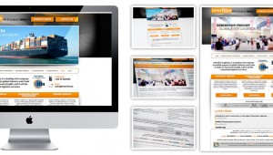 Interflow Logistics Web Design