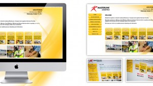 Masterlink Logistics Web Design