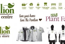 The Pavilion Garden Centre Identity Design