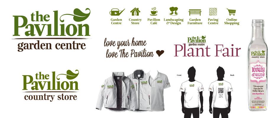 The Pavilion Garden Centre Identity Design